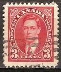 Sellos de America - Canadá -  El rey Jorge VI.