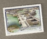 Stamps Asia - Nepal -  Presa Hidroeléctrica