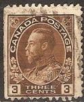 Sellos del Mundo : America : Canadá : Rey Jorge V.