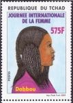 Sellos de Africa - Chad -  Jornadas Internaciones de la Mujer