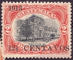 Stamps Guatemala -  Instituto de Indigenas