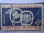 Stamps United States -  St. Lawrence Seaway