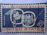 Sellos de America - Estados Unidos -  St. Lawrence Seaway