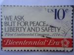 Stamps United States -  Bicentennial Era-