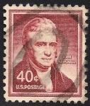 Sellos de America - Estados Unidos -  John Marshall