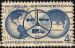 Sellos de America - Estados Unidos -  En honor a la industria del automóvil y en el marco de la Feria Nacional del Automóvil de Detroit, O