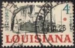 Sellos de America - Estados Unidos -  150 Aniversario del estado de Louisiana.