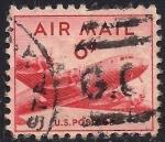 Sellos de America - Estados Unidos -  DC-4
