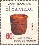 Stamps El Salvador -  TESOROS  DE LA  CERÀMICA.    ARQUEOLOGÌA.