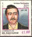 Stamps El Salvador -  REY  AVILA.  ARTISTA  NACIONAL.