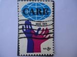 Sellos de America - Estados Unidos -  CARE 1946-1971 (Cuidado con el Planeta tierra)
