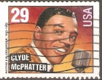 Stamps United States -  CLYDE  McPHATTER.  CANTANTE  DE  BLUES