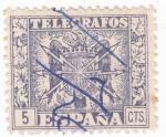 Sellos de Europa - España -  sello de TELÉGRAFOS  (V)