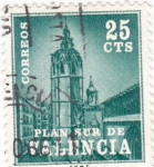 Stamps : Europe : Spain :  PLAN SUR DE VALENCIA-El Miguelete  (V)