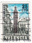 Stamps : Europe : Spain :  PLAN SUR DE VALENCIA-Torre de Santa Catalina  (V)