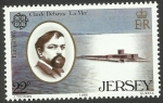 Stamps Europe - Jersey -  Debussy