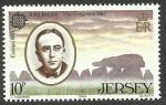 Stamps : Europe : Jersey :  John Ireland