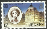 Stamps Europe - Jersey -  Ivy St. Helier
