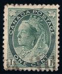 Sellos de America - Canadá -  Reina Victoria.