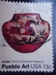 Stamps United States -  Pueblo Art.