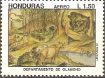 Stamps Honduras -  DEPARTAMENTO  DE  OLANCHO