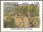 Sellos de America - Honduras -  DEPARTAMENTO  DE  LA  PAZ