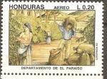 Sellos de America - Honduras -  DEPARTAMENTO  DE  EL  PARAÌSO