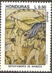 Stamps Honduras -  DEPARTAMENTO  DE  INTIBUCÀ