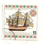 Stamps Bulgaria -  Galeon