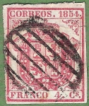 Stamps Europe - Spain -  Escudo de España, Edifil 33