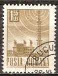 Sellos de Europa - Rumania -  La estación de radio (p).