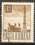 Sellos de Europa - Rumania -  La estación de radio.
