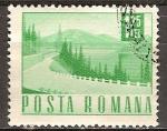 Sellos del Mundo : Europa : Rumania : Carretera de Lakeside.