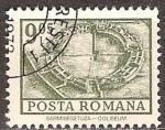 Sellos del Mundo : Europa : Rumania : excavada Coliseum, Sarmizegetusa.