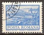 Sellos del Mundo : Europa : Rumania : Estación de energía hidroeléctrica, las Puertas de Hierro.