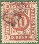 Sellos de Europa - España -  Cifras, Edifil 94