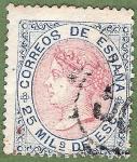 Sellos de Europa - España -  Isabel II, Edifil 95