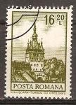 Sellos del Mundo : Europa : Rumania : La Torre del Reloj de Sighișoara.