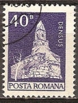 Sellos de Europa - Rumania -  Iglesia románica en Densus (p)
