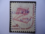 Stamps United States -  United States-Air mail