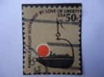 Sellos de America - Estados Unidos -  United States-Air mail