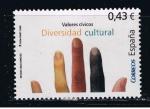 Sellos de Europa - España -  Edifil  4394  Valores Cívicos.