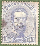 Stamps Europe - Spain -  Amadeo I, Edifil 121
