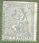 Stamps Europe - Spain -  Alegoría de España, Edifil 133