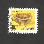 Sellos de Asia - Corea del norte -  1612 - Patrimonio cultural nacional