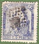 Stamps Europe - Spain -  Alegoría de España, Edifil 137