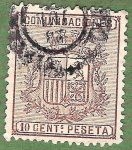 Stamps : Europe : Spain :  Escudo de España, Edifil 153
