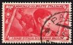 Sellos de Europa - Italia -  X aniversario del gobierno fascista y la Marcha sobre Roma. Jefe de la juventud fascista.
