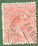 Stamps : Europe : Spain :  Alfonso XIII, Edifil 228