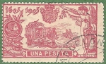 Stamps : Europe : Spain :  III Cent del Quijote, Edifil 264